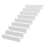 Lippe Lift Icon Gerade Treppe