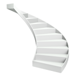 Lippe Lift Icon Kurvige Treppe