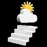 Lippe Lift Icon Außentreppe
