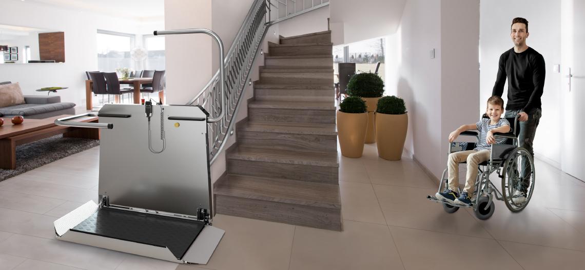 LIPPE Lift T80 Plattformtreppenlift