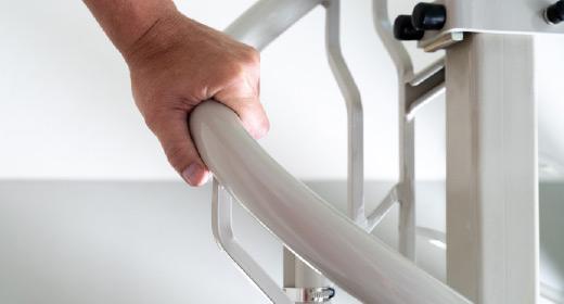 LIPPE Lift Plattformtreppenlift Handlauf