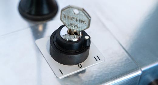 LIPPE Lift Plattformtreppenlift Sonderschlüssel-Schalter