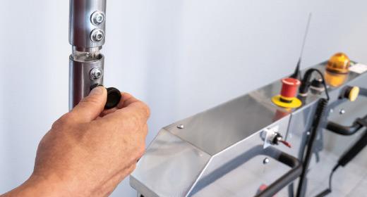 LIPPE Lift Plattformtreppenlift Abnehmbare Sicherheitsschranken