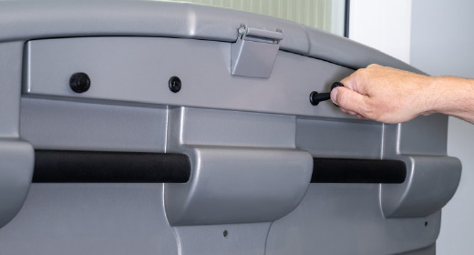 LIPPE Lift Plattformtreppenlift Abschließbare Bedienelemente