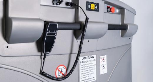 LIPPE Lift Plattformtreppenlift Steckbares Bedienelement