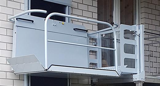 LIPPE Lift Vertikal-Plattformlift Sicherheit-Tür